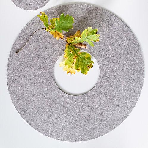 Filzring (60 cm) - Untersetzer aus Filz für den Tisch