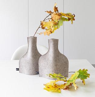"""Vasenhusse """"Picolo 1"""" aus Wollfilz"""
