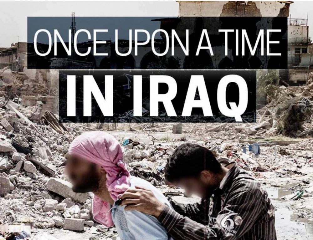 Promotional poster for a new documentary about Iraq produced for the BBC and PBS. (BBC/PBS/Frontline)