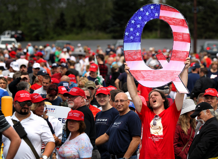 QAnon is a Nazi Cult, Rebranded