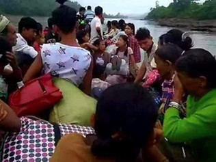 Myanmar military jets open fire on Christian Chin villages killing 21 people