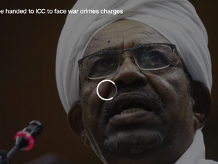 Sudan says it will hand Bashir to ICC