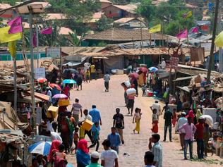 The Rohingya, one of the world's most vulnerable groups, now finds itself confronting covid-19