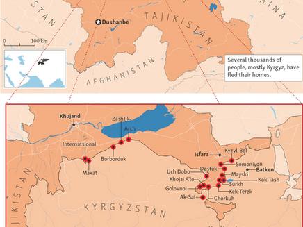 Genocide Warning: Tajikistan & Kyrgyzstan Border