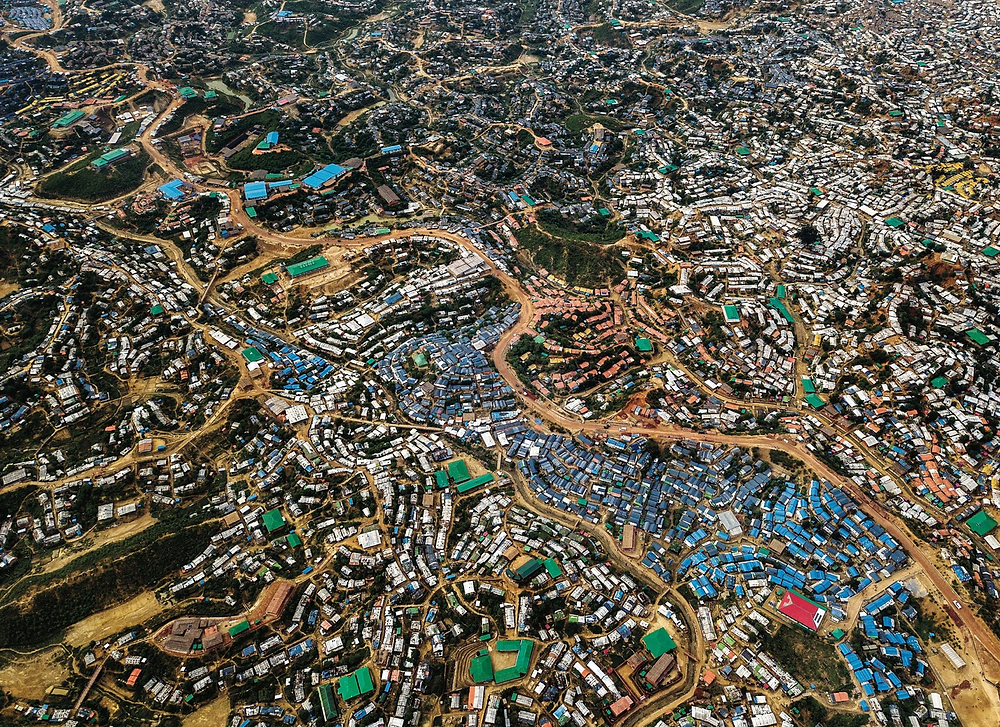 The Kutupalong Rohingya refugee camps in Bangladesh. Many Rohingya say they will refuse to be repatriated to Myanmar if their ethnicity does not receive official recognition and the accompanying rights.CreditAdam Dean for The New York Times
