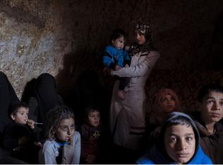 A Syrian offensive wreaks terror on children