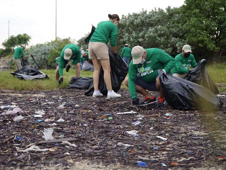 Campaña Go Green llega a Progreso para contribuir a la limpieza de la Zona costera