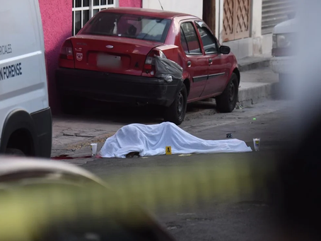 Martes 13, el día más violento de 2021 con 105 homicidios dolosos