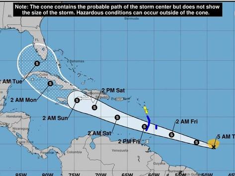 Se formó la tormenta tropical Elsa en el océano Atlántico, no representa peligro para la Península
