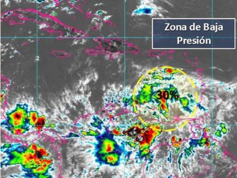 Este fin de semana llegaría a la Península de Yucatán un potencial ciclónico