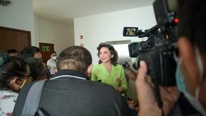 Celebra Ivonne Ortega que gobierno retome proyecto de hospital en Ticul, Yucatán
