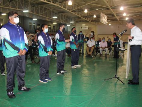 IDEY abandera a delegación yucateca, rumbo a los Paranacionales Conade