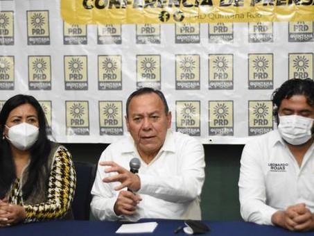 ¿El PRD tiene dirigente? Piden al partido revelar quién es