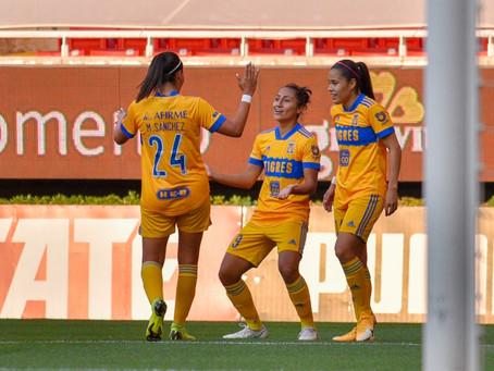Tigres comió Chivas y es líder en la Liga MX femenil