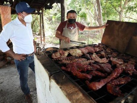 Trabajando juntos nos vamos a recuperar y hacer todos los cambios que Yucatán necesita: Vila