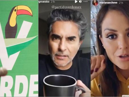 Partido Verde impugna multa del INE por campaña de influencers