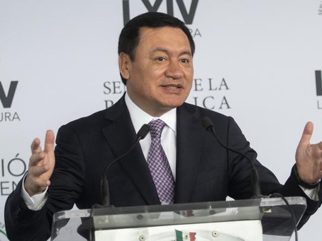 Miguel Ángel Osorio Chong celebra exoneración de Salvador Cienfuegos