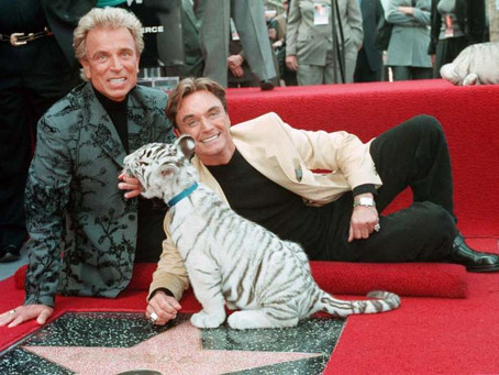 Ilusionista Siegfried Fischbacher falleció en Las Vegas