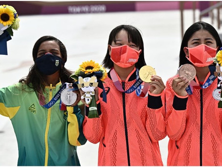 Tokio 2020: la reina del skateboarding olímpico es una adolescente de 13 años