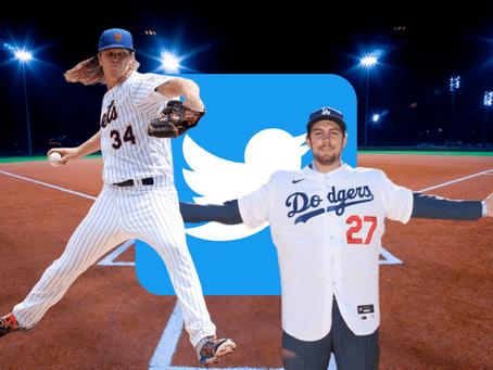 Noah Syndergaard y Trevor Bauer se tiran por la red social Twitter