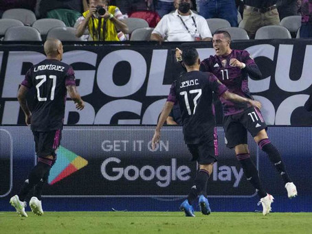 México avanza caminando a semifinales de Copa Oro
