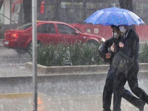 Se esperan lluvias y algunas tormentas eléctricas para hoy 4 de julio
