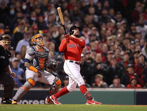 Medias Rojas apalean a Astros en el tercer duelo