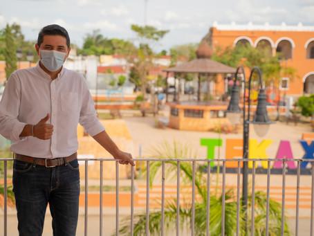 Diego Ávila solicita licencia para competir por un nuevo período al frente del Ayuntamiento de Tekax
