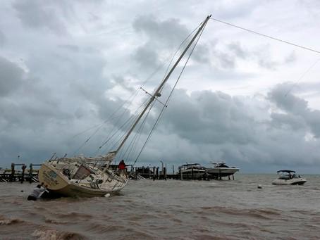 Huracán Delta agarra fuerza llega a categoría 4 impactaría Puerto Morelos con vientos desde 220 km/h