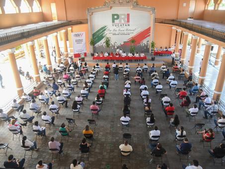 Celebra el PRI Yucatán su primera asamblea municipal en Mérida