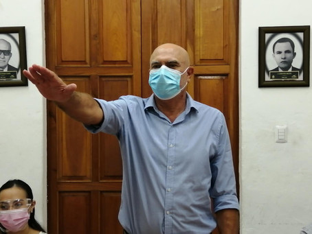 Manuel Sánchez González se integra al Cabildo de Progreso