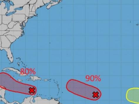 Alerta a la población por el periodo más intenso de la temporada de huracanes