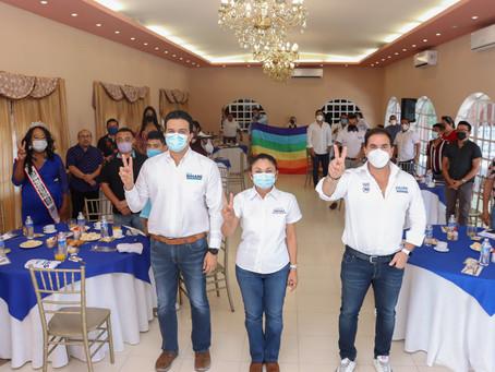 Comunidad LGBTTTIQ+ de Progreso, más unida y dispuesta para trabajar por sus derechos