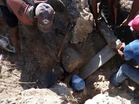 Protección Civil de Progreso atiende el auxilio de un trabajador de la construcción