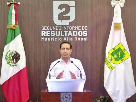 Unidos para seguir cambiando a Yucatán: Gobernador Mauricio Vila Dosal