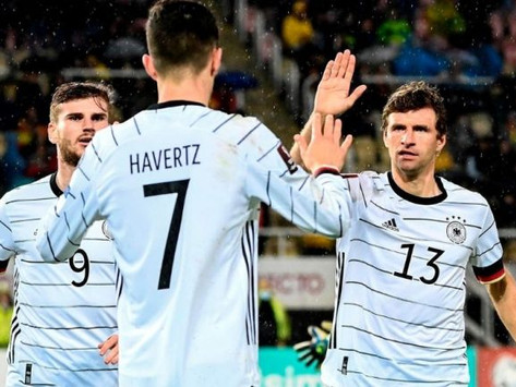 Qatar 2022: Alemania, primer clasificado al Mundial tras golear a Macedonia