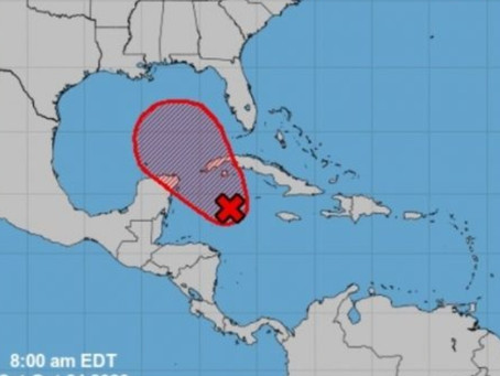Pronostican lluvias para el fin de semana y posibilidad que se forme una depresión tropical