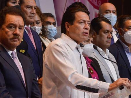 Anuncia Mario Delgado restructuración de Morena