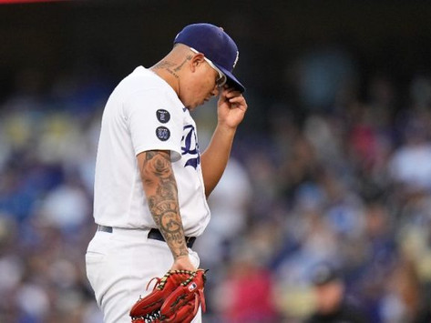 Julio Urías: Dodgers cayó ante Braves y están a una derrota de ser eliminados