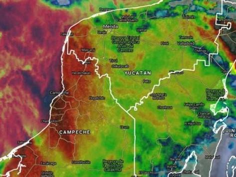 En las próximas horas con probabilidad de lluvias muy fuertes en Yucatán