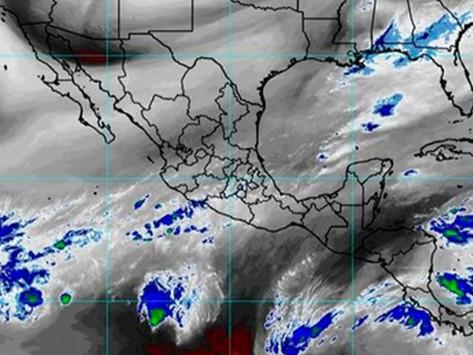 Prevén fuertes lluvias en Campeche, Chiapas y Tabasco