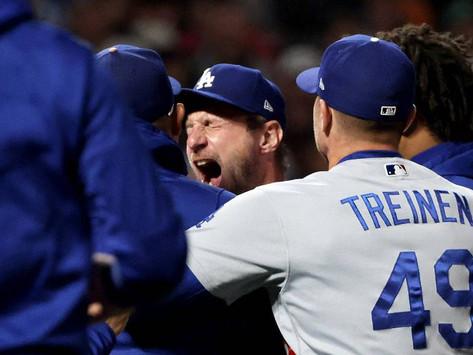 Dodgers se llevan el quinto juego ante Giants, enfrentará a Braves en la Serie de Campeonato (VIDEO)