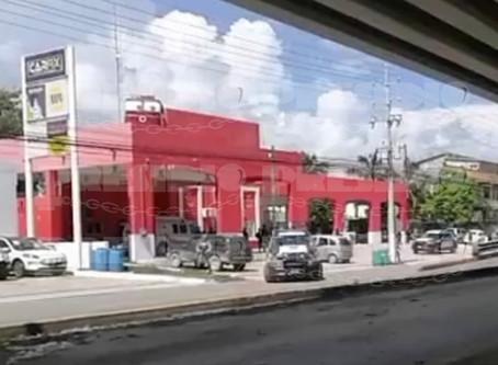 Atentan con bomba casera contra estación de bomberos
