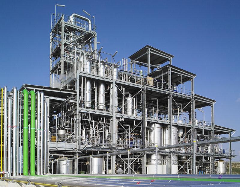 Industrial Soy Oil Refinery