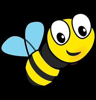 Happy bee - No Pesticides!