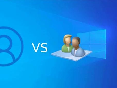 Ordinateur sous Windows: Utiliser un compte local c'est mieux qu'un compte Microsoft