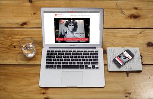 Expo Milwaukee New Website Design Desktop and Mobile Version