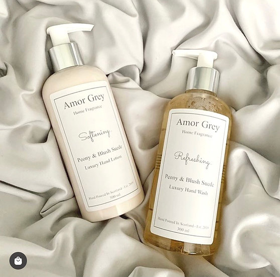 Hand wash & lotion set