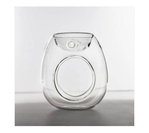Clear glass burners
