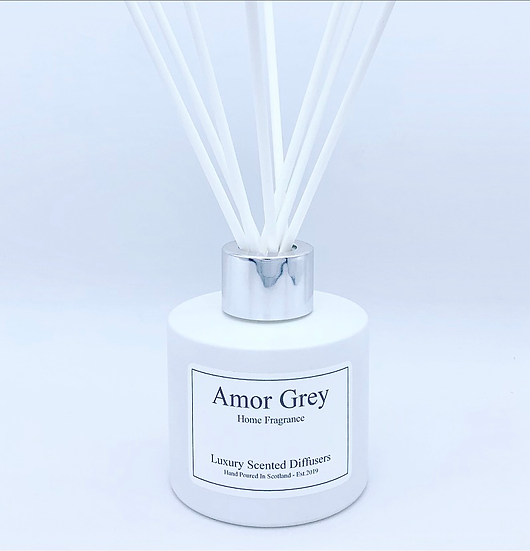 White gloss 100ml reed diffuser